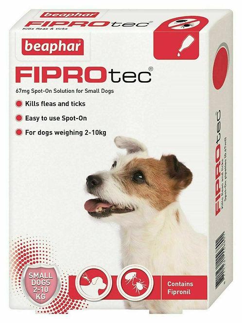 Beaphar FIPROtec� Spot-On for Small Dogs