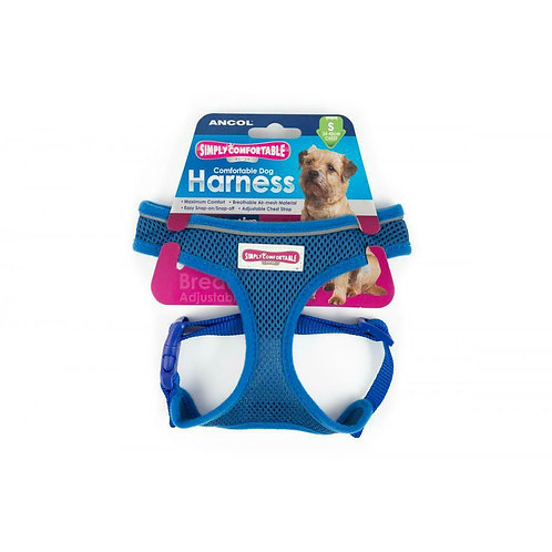 Ancol Comfort Mesh Harness Blue
