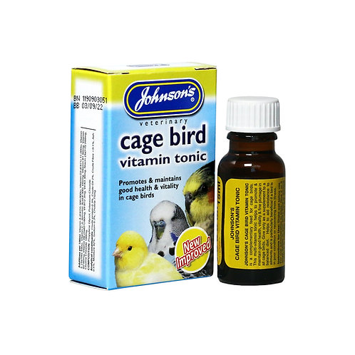 Johnson's Cage Bird Vitamin Tonic
