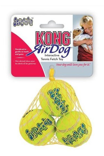 KONG SqueakAir Tennis Ball Extra Small