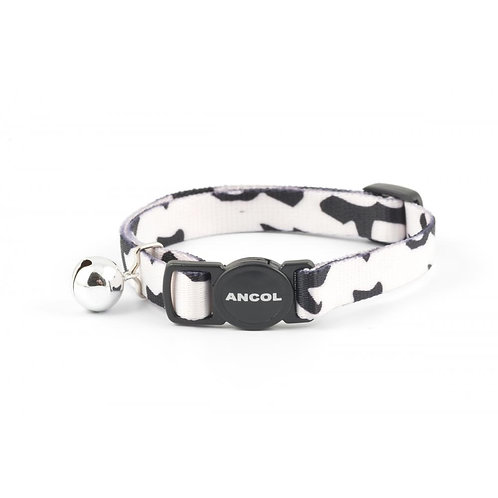 Ancol Cat Collar Camouflage Black 20-30cm