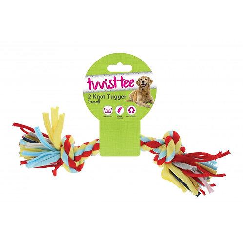 Happy Pet Twist-tee 2 Knot Small