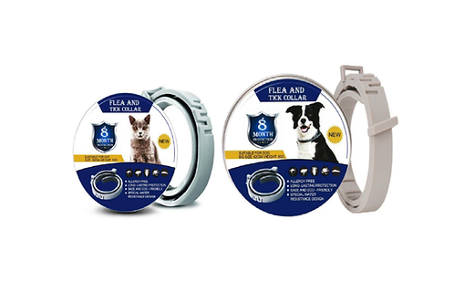Flea & Tick Collar For Dog Cat Kitten Puppy 8 Month Protection Eco Friendly