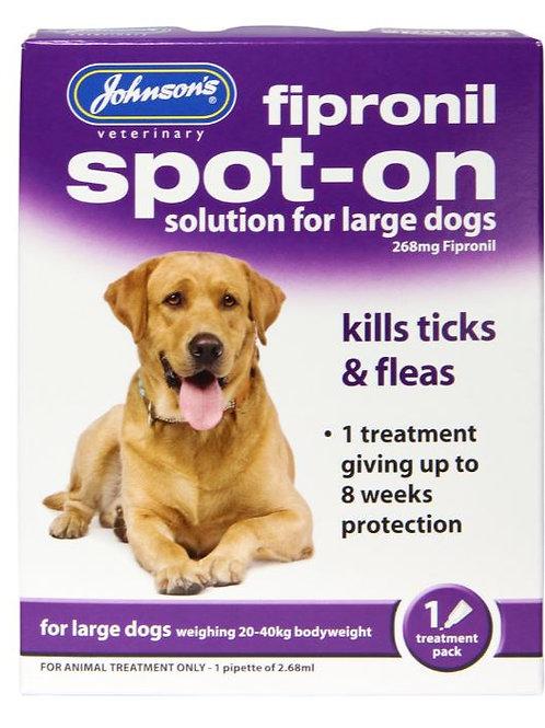 Johnson's Fipronil Spot-on Large Dog