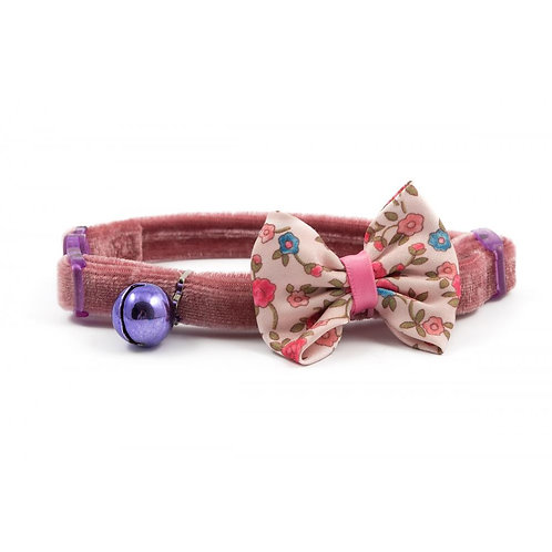 Ancol Vintage Pink Cat Collar