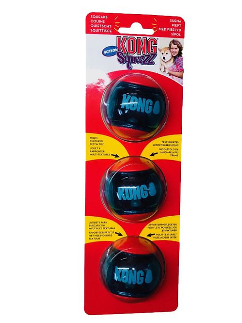 KONG Squeezz Action Red Small