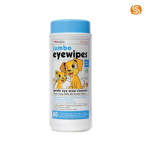 Petkin Jumbo Eye Wipes