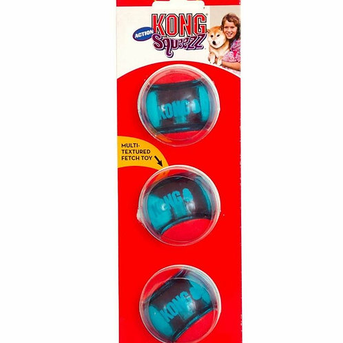 KONG Squeezz Action Red Medium