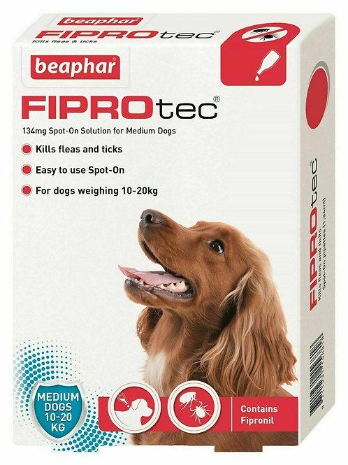 Beaphar FIPROtec� Spot-On for Medium Dogs
