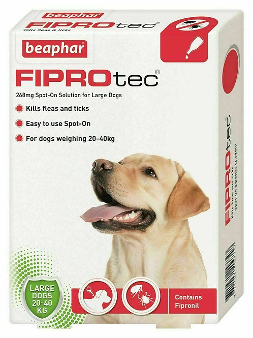Beaphar FIPROtec� Spot-On for Large Dogs
