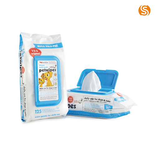 Petkin Mega Value Wipes