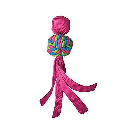 KONG Wubba Weaves Pink
