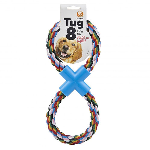 Figure of 8 Tug Rope Dog 31cm