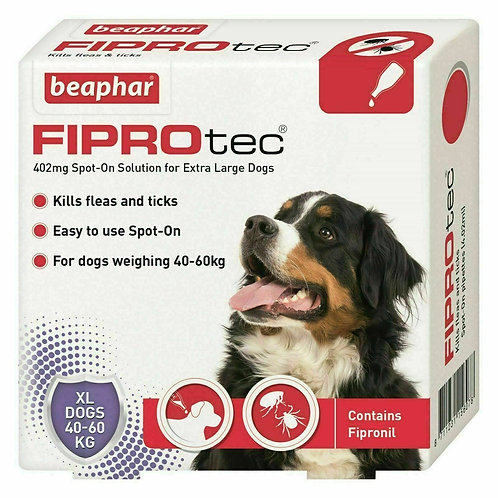 Beaphar FIPROtec� Spot-On for Extra Large Dogs