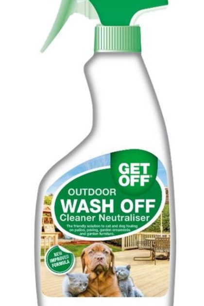GET OFF Wash Off Outdoor Spray Cleaner 500ml