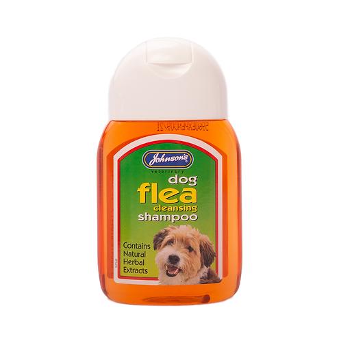 Johnson's Dog Flea Cleansing Shampoo 125ml