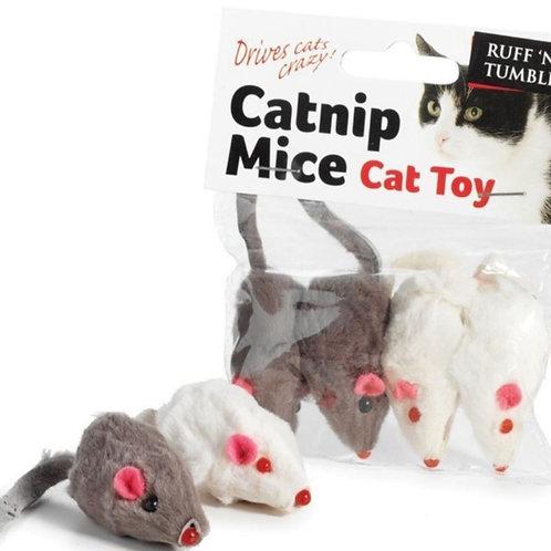 Sup r Catnip Mice Cat Toy