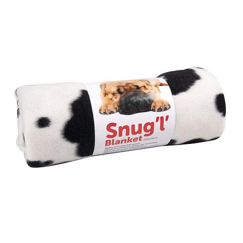 Puppy Blanket Soft, Cosy & Warm, Washable Snug'l' Blanket 100cm x 70cm