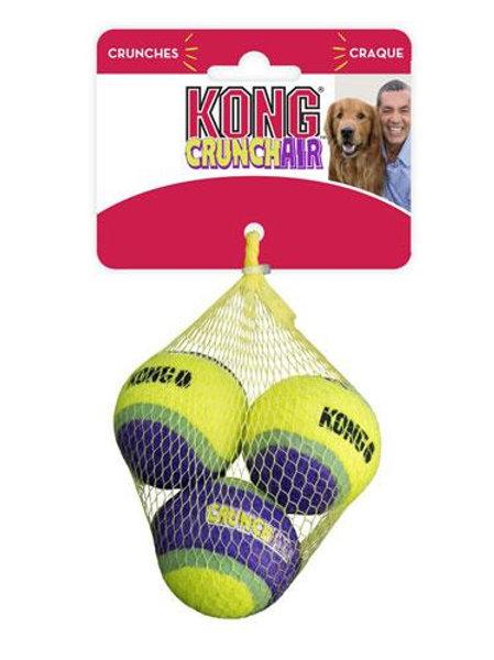KONG CrunchAir Balls Small 3 Pack