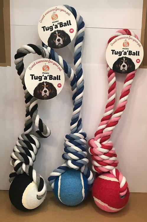 Ruff 'N' Tumble Tug 'A' Ball on a Rope 250g