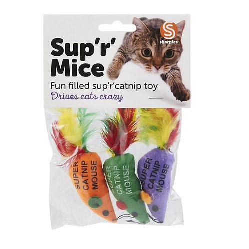Ruff 'N' Tumble Sup 'R' Mice & Catnip
