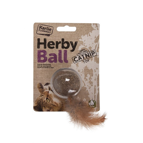 Herby Ball with Catnip