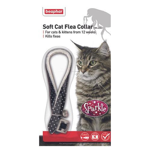 Beaphar Cat Flea Collar Sparkle Black