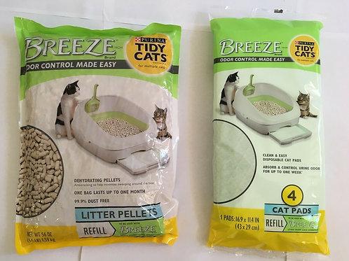 Purina Tidy Cats Breeze Refill Litter Refill Pads Refill Mats