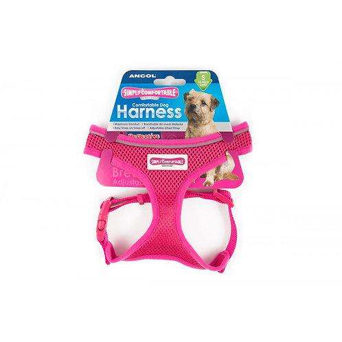 Ancol Comfort Mesh Harness Pink