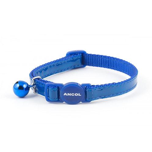 Ancol Cat Collar Gloss Reflective  Blue