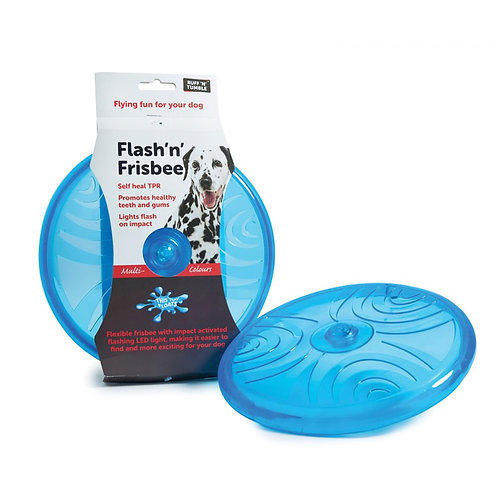 Ruff n Tumble Flash n Frisbee 20cm