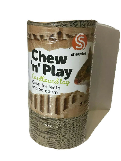 Chew 'N' Play Cardboard Log