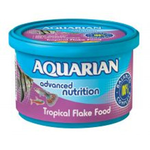 Aquarian Tropical & Temperate Flake Food 13g