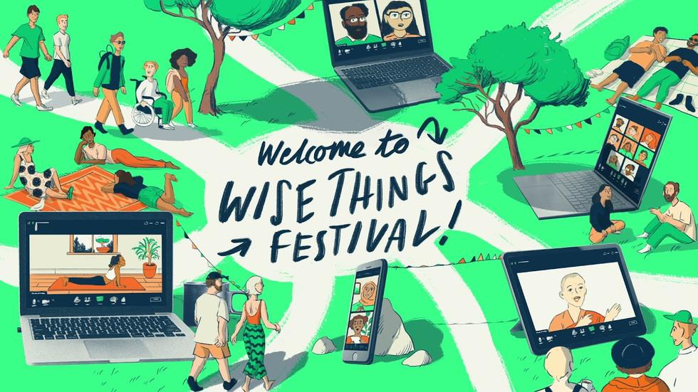 Wise Things Festival header 2021