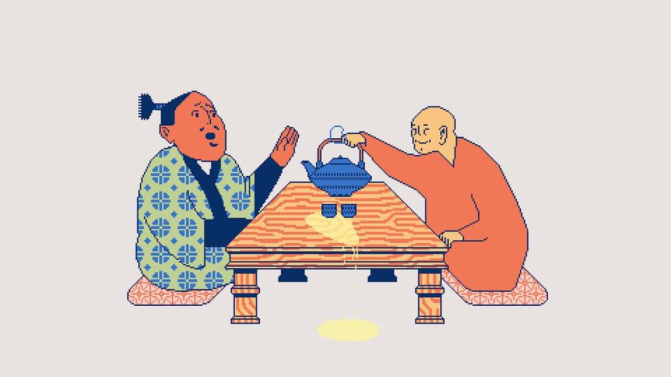 Nan-in Serves Tea