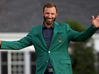 Cool & Calm. DJ goes 20 under at the Masters