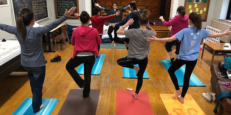 Tuesday Middle School Yoga