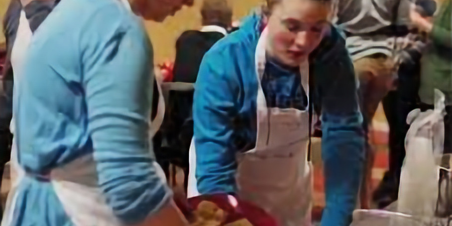 Cooking Fair Trade with the Delaware County Against Human Trafficking Coalition