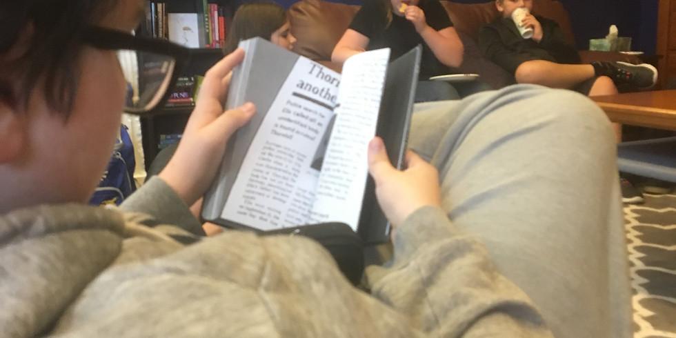 April Middle School Book Club