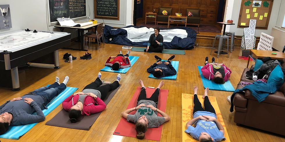 Middle School February Yoga