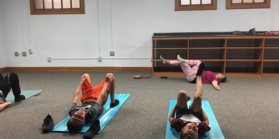 Wednesday Middle School Yoga