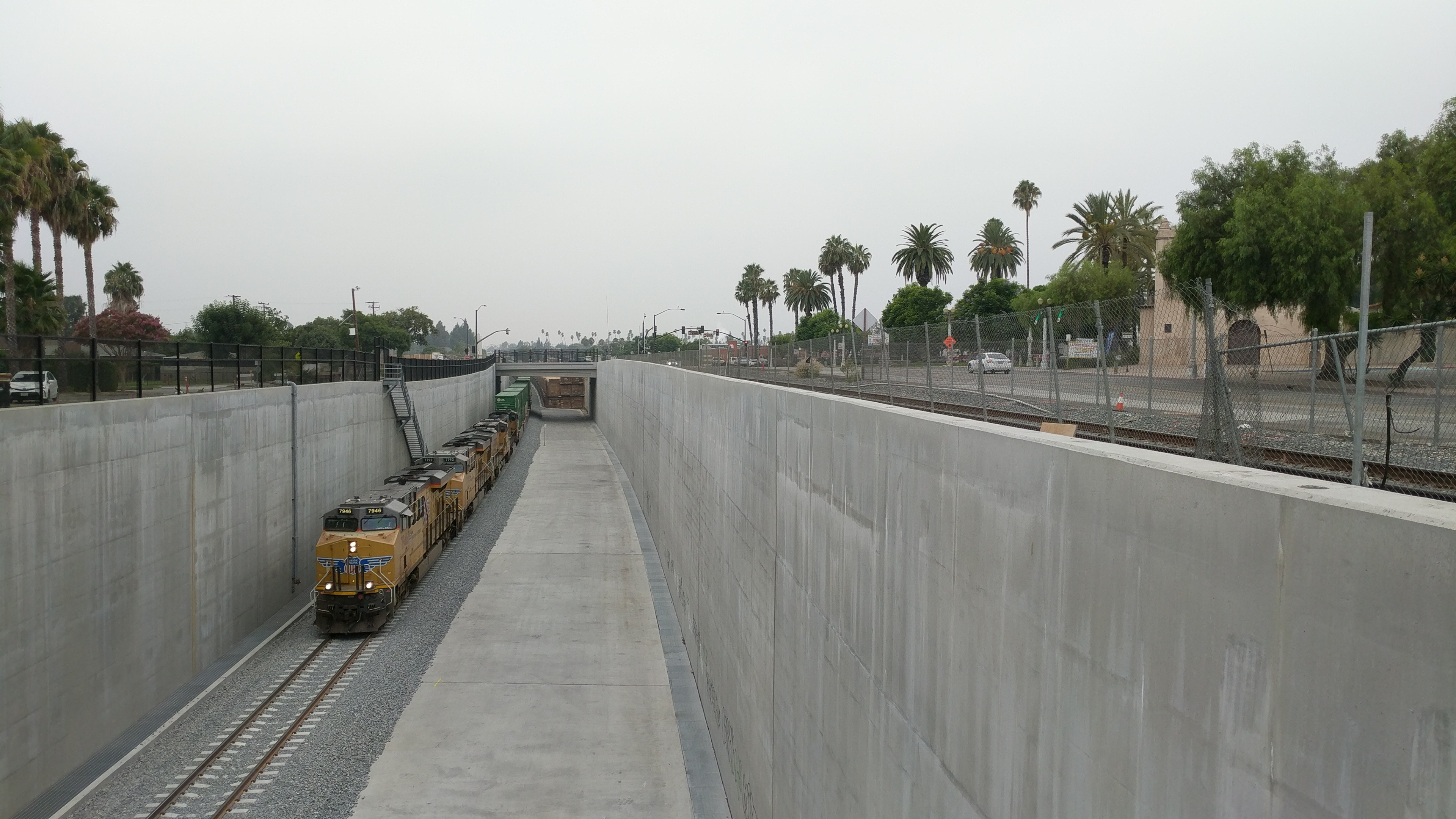 San Gabriel Trench Project.
