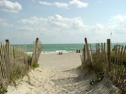 Walk on Soft Sandy Beaches