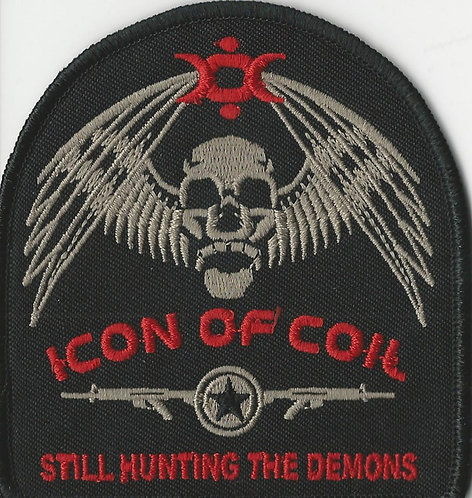Icon of Coil - Still Hunting Demons Embroidered Patch