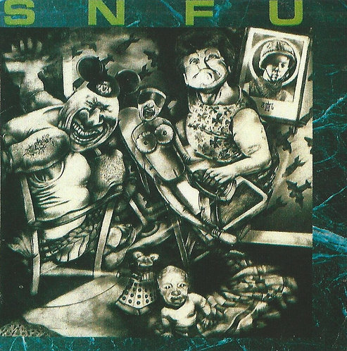 SNFU - Better Than a Stick in the Eye Sticker