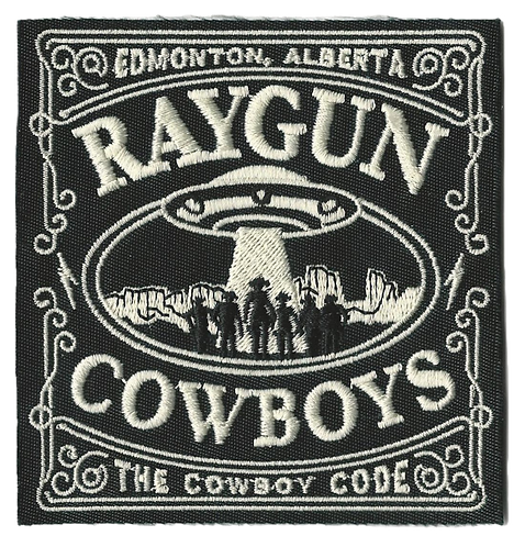 Raygun Cowboys - Cowboy Code Embroidered Patch