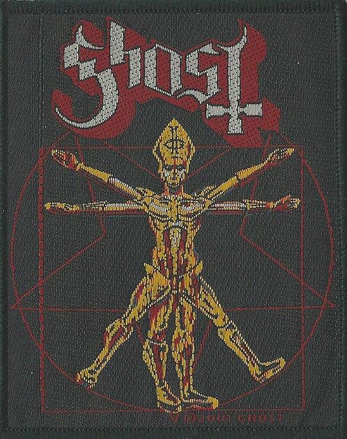Ghost - Vitruvian Papa Woven Patch