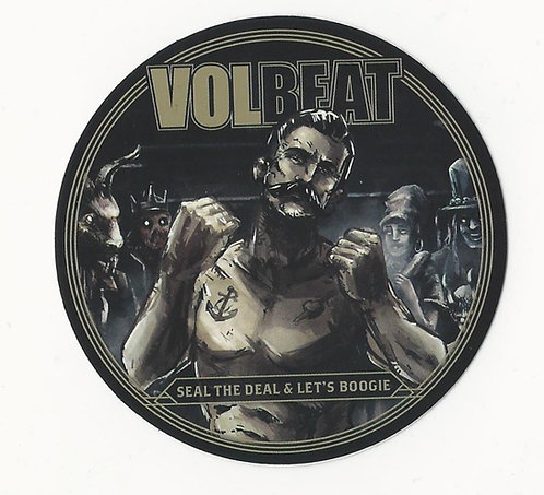 Volbeat - Seal The Deal & Let's Boogie Sticker