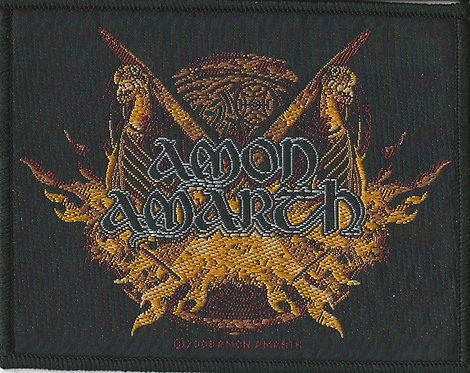 Amon Amarth - Viking Horde Woven Patch
