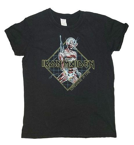 Iron Maiden - Somewhere in Time Stonewash Ladies Tee